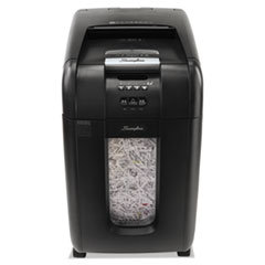Stack-and-Shred 300X Auto Feed Super Cross-Cut Shredder, 300 Sheet Capacity