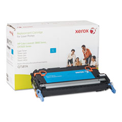 6R1343 (Q7581A) Compatible Remanufactured Toner, 6800 Page-Yield, Cyan