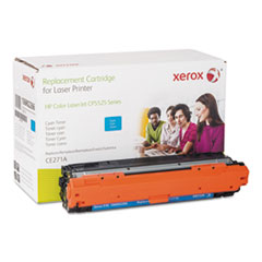 106R2266 (CE271A) Compatible Remanufactured Toner, 15000 Page-Yield, Cyan