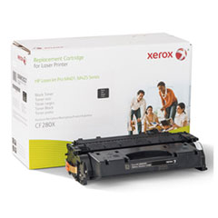 6R3027 (CF280X) Compatible Remanufactured High-Yield Toner, 8800 Page-Yield, Black