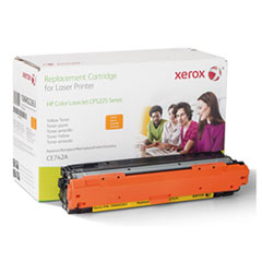 106R2263 (CE742A) Compatible Remanufactured Toner, 7300 Page-Yield, Yellow