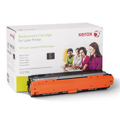106R2265 (CE270A) Compatible Remanufactured Toner, 13500 Page-Yield, Black