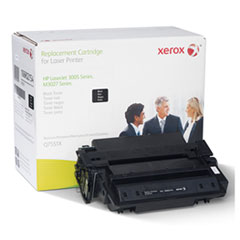 106R2154 (Q7551X) Compatible Remanufactured Extended Yield Toner, 18300 Page-Yield, Black