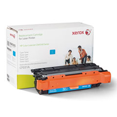 006R03005 Remanufactured CF031A (646A) Toner, 12500 Page-Yield, Cyan
