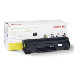 6R3197 (CB436A) Compatible Remanufactured Extended Yield Toner, 3000 Page-Yield, Black