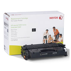 006R03196 Replacement Extended-Yield Toner for CE505X (05X), Black