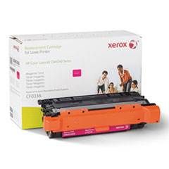 006R03006 Remanufactured CF033A (646A) Toner, 12500 Page-Yield, Magenta