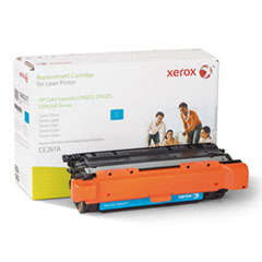 106R2217 (CE261A) Compatible Remanufactured Toner, 12700 Page-Yield, Cyan