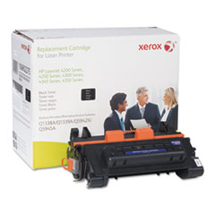 106R2275 (CC364A) Compatible Remanufactured Extended Yield Toner, 18000 Page-Yield, Black