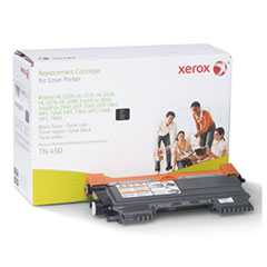106R2634 (TN-450) Compatible Remanufactured Toner, 2600 Page-Yield, Black