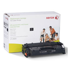 6R3206 (CF280X) Compatible Remanufactured Extended Yield Toner, 10000 Page-Yield, Black