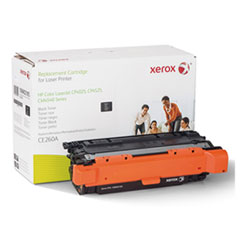 106R2185 (CE260A) Compatible Remanufactured Toner, 8500 Page-Yield, Black