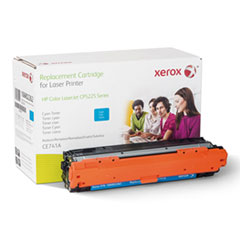 106R2262 (CE741A) Compatible Remanufactured Toner, 7300 Page-Yield, Cyan
