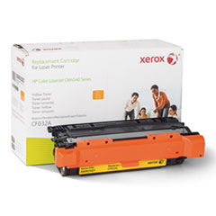6R3007 (CF032A) Compatible Remanufactured Toner, 12500 Page-Yield, Yellow