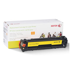 6R3184 (CF212A) Compatible Remanufactured Toner, 1800 Page-Yield, Yellow