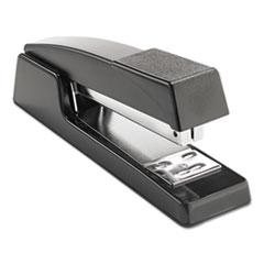 """Classic Full-Strip Stapler, 15-Sheet Capacity, 3 1/2"""" Throat, Black"""