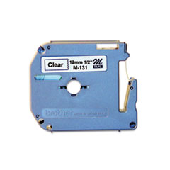 M Series Tape Cartridge for P-Touch Labelers, 1/2
