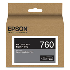T760120 (760) UltraChrome HD Ink, Photo Black