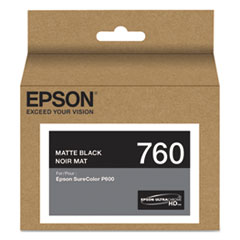 T760820 (760) UltraChrome HD Ink, Matte Black