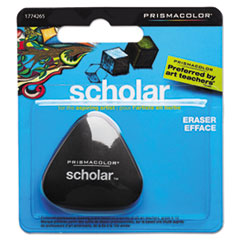 Scholar Eraser, Art, Black