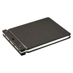 "Raven Vinyl-Guarded Post Binder, 2"" Cap, 9 1/4 x 11 7/8, Black"
