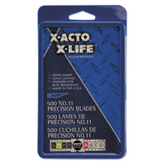#11 Bulk Pack Blades for X-Acto Knives, 500/Box EPIX511