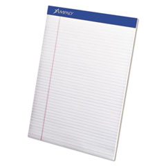 Mead Legal Ruled Pad, 8 1/2 x 11, White, 50 Sheets, 4 Pads/Pack