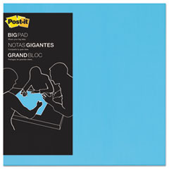Big Pad, 22 x 22, Blue, 30-Sheet
