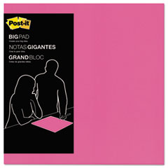 Big Pad, 15 x 15, Fuchsia, 30-Sheet