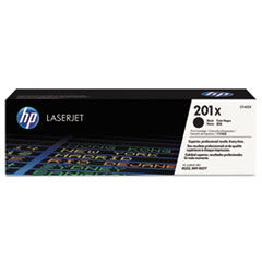 HP 201X, (CF400X) High Yield Black Original LaserJet Toner Cartridge