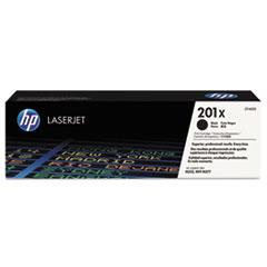 HP 201X, (CF400X) High Yield Black Original LaserJet Toner Cartridge