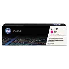 HP 201X, (CF403X) High Yield Magenta Original LaserJet Toner Cartridge