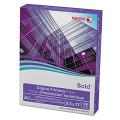 Bold Digital Printing Paper, 8 1/2 x 11, White, 500 Sheets/RM