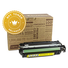 Remanufactured CE252A (504A) Toner, Yellow - Compatible