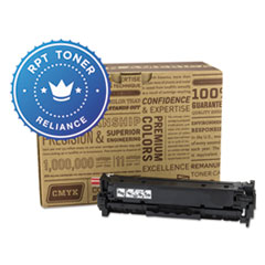 Remanufactured CE411A (305A) Toner, Cyan - Compatible
