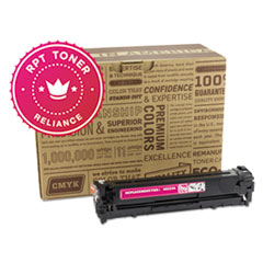 RPT RELCE323A Remanufactured CE323A Toner, 1300 Page-Yield, Magenta