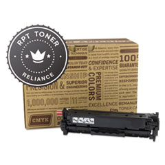 Remanufactured CE410X (305X) High-Yield Toner, Black - Compatible