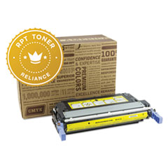 RPT RELQ6462A Remanufactured Q6462A Toner, 12000 Page-Yield, Yellow