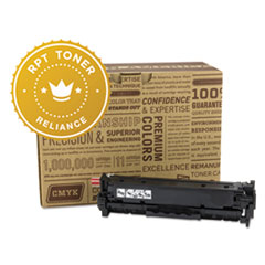 Remanufactured CE412A (305A) Toner, Yellow - Compatible