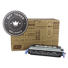 Remanufactured Q6460A (644A) Toner, Black - Compatible