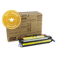RPT RELQ7582A Remanufactured Q7582A Toner, 6000 Page-Yield, Yellow