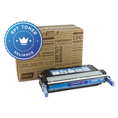 Remanufactured Q5951A (643A) Toner, Cyan - Compatible
