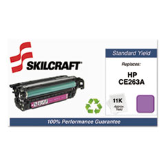 751000NSH1117 Remanufactured CE263A Toner, Magenta