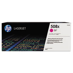 HP 508X, (CF363X) High Yield Magenta Original LaserJet Toner Cartridge