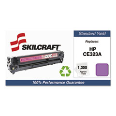 751000NSH1112 Remanufactured CE323A Toner, Magenta