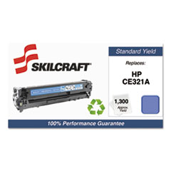 751000NSH1110 Remanufactured CE321A Toner, Cyan
