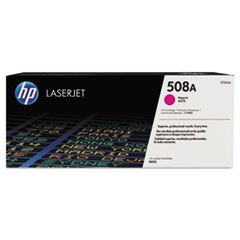 HP 508A, (CF363A) Magenta Original LaserJet Toner Cartridge