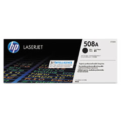 HP 508A, (CF360A) Black Original LaserJet Toner Cartridge