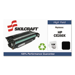 751000NSH1104 Remanufactured CE250X High-Yield Toner, Black