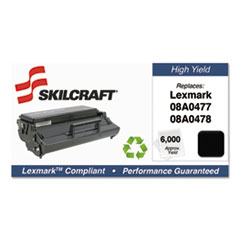 751000NSH0204 Remanufactured 08A0478 High-Yield Toner, Black